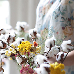 Watch: A Colorful Cotton Garland