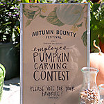 Autumn Bounty Festival: Staff Pumpkin Carving Contest
