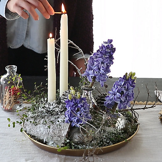 Shop the Project: A Blooming Bulb Centerpiece
