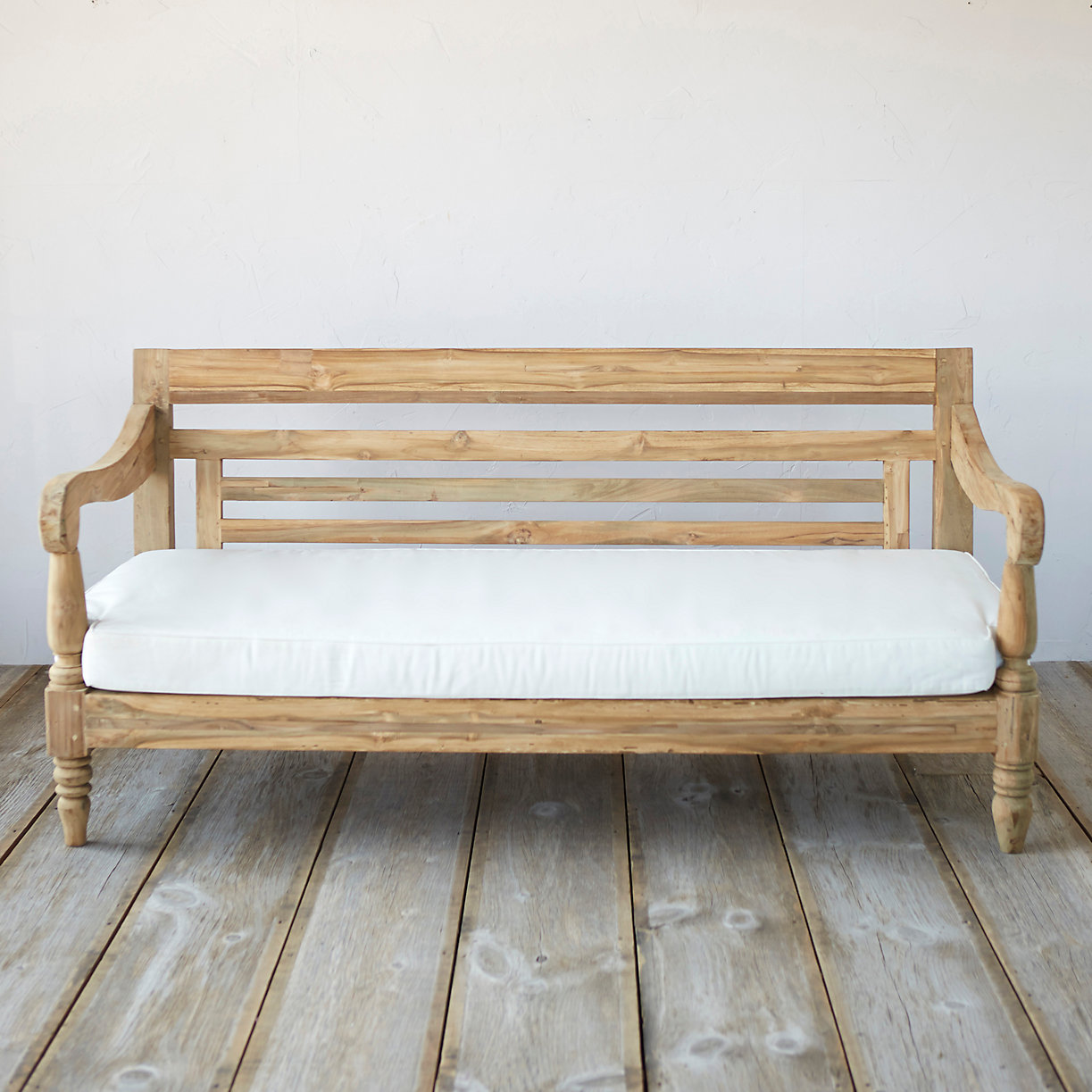 Reclaimed Teak Javanese Sofa Outdoor Cushion Terrain