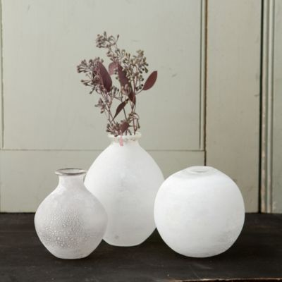 First Frost Vase Collection