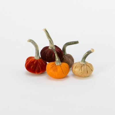 Hand-Sewn Pumpkins, Small