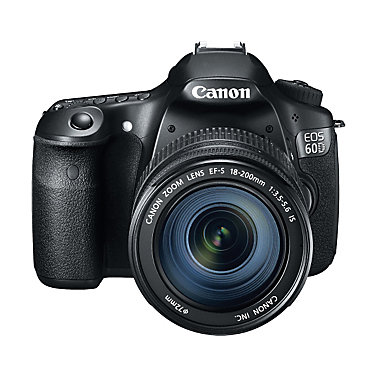 Canon EOS 60D kit 18-200mm