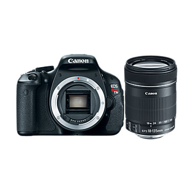 Canon EOS Rebel T3i 18-135mm lens kit
