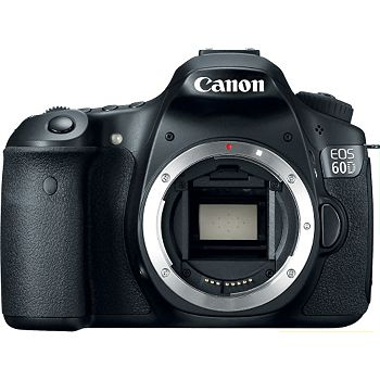 Vanns.com - Canon EOS 60D 18-MP dSLR Camera + 4Gb SDHC Card - $899.99