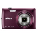 Nikon S4300 PLUM BUNDLE Digital Cameras