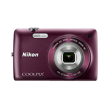 Nikon S4300 PLUM BUNDLE