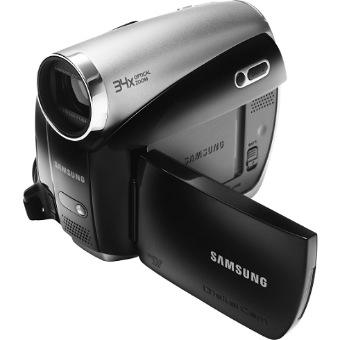 Samsung SC D382 MiniDV Digital Camera   $160 Shipped