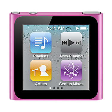 Apple 16GB iPod nano MC698LLA