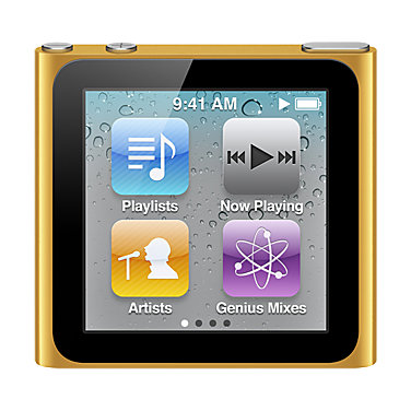 Apple 16GB iPod nano MC697LLA