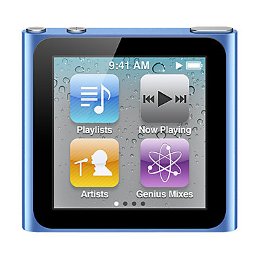Apple 16GB iPod nano MC695LLA
