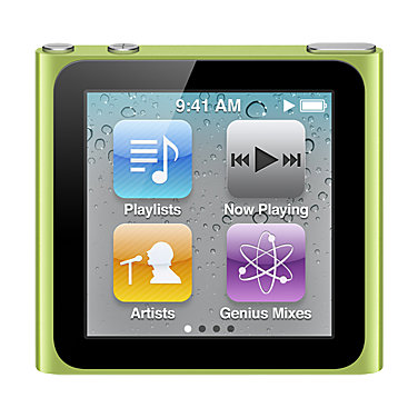 Apple 16GB iPod nano MC696LLA