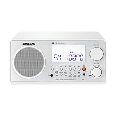 Sangean WR2 AM/FM digital clock radio