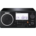 Sangean WR2 AM/FM digital clock radio Radios