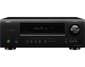 Denon AVR-1312 (Black) 5.1 Channel Home Theater Receiver with Dolby, Digital/TrueHD Decoding, 4 HDMI