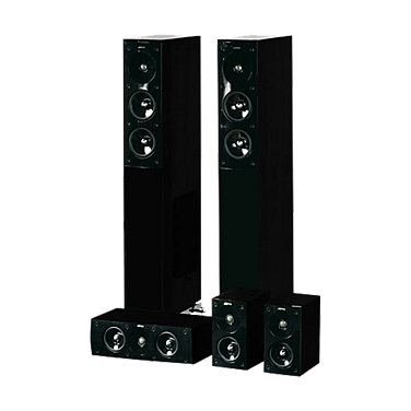 5.0-Ch.Home Theater Speaker System
