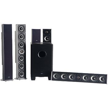 Vanns.com - Energy 5.1-Channel Home Theater Speakers - $399.98