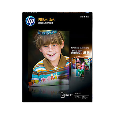 HP 8.5 x 11 PREMIUM SFT GLS PHOTO PAPER