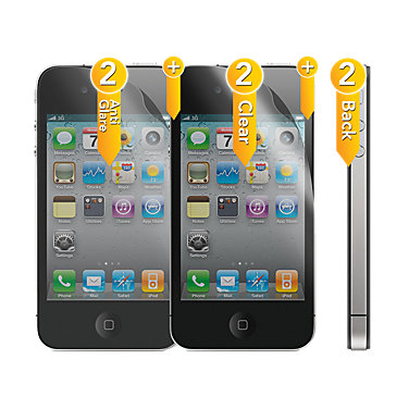 Sonix 6PACK iPhone screen protectors