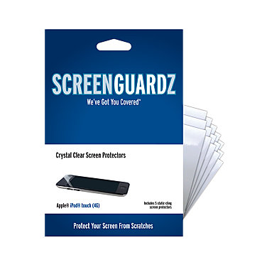 BodyGuardz 5-pack for iPod Touch 4G
