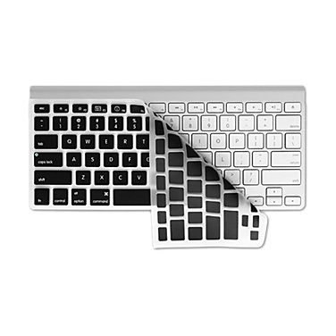 KB Checkerboard Keyboard Cover (Clear w/Black Buttons)