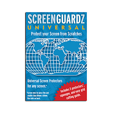 ScreenGuardz UNIVERSAL SCREEENGUARDZ 5 PACK