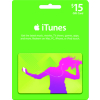 Apple $15 iTunes Gift Card Portable Audio