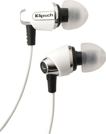 Klipsch Image S4 White Headphone With $15 iTunes Gift Card   $79 With Shipping
