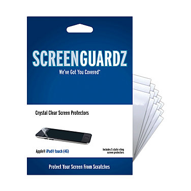 ScreenGuardz Screenguardz for Apple iPod touch 4Gen