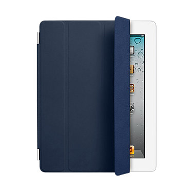 Apple MD303LL/A SMRTCVR LEATHER NAVY