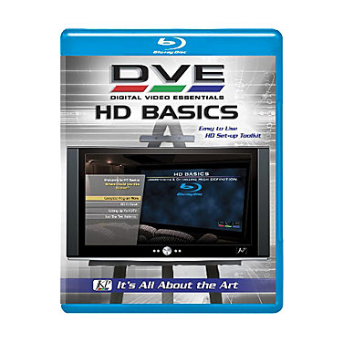 DVD International DVE HD Basics Blu-ray