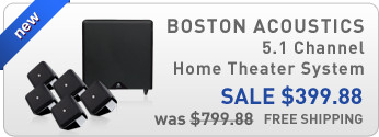 Boston Acoustics 5.1 Channel Home Theater System