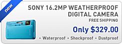 Sony TX10 Weatherproof Digital Camera