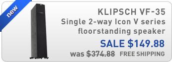 Klipsch VF-35 Single 2-way Icon V Series floorstanding speaker