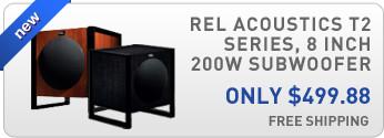 Rel Acoustics T2 Series 8 inch 200W Subwoofer
