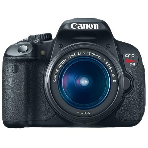 Canon REBEL T4I 6558B003