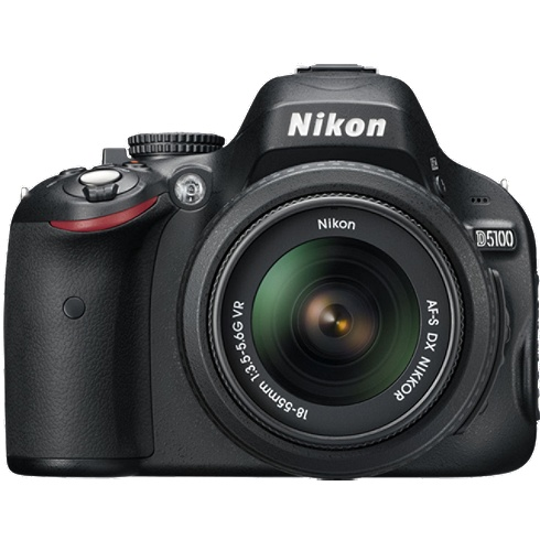 Nikon D5100 W/18-55mm VR Lens