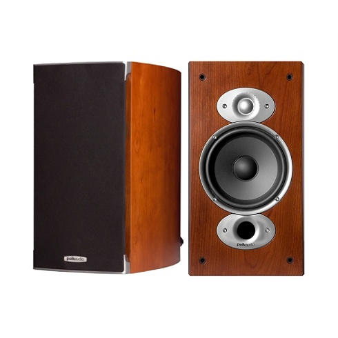 2-way cherry RTiA Series bookshelf speaker pair
