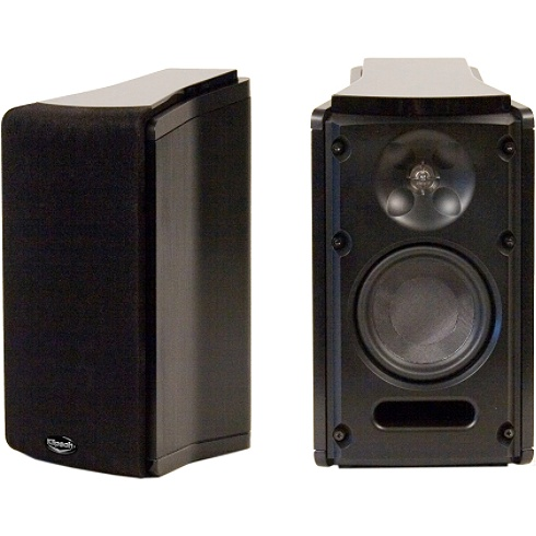 2-Way Black Icon X Series Bookshelf Speaker Pair