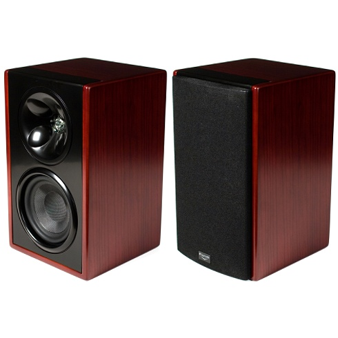 2-way cabernet Icon W Series bookshelf speaker pair