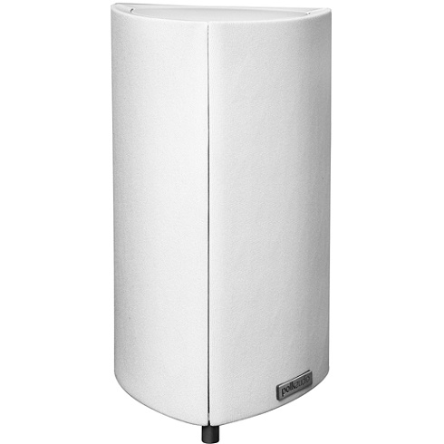 2-way single white RM 2008 Series satellite speaker