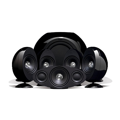 KEF KHT3005 High gloss black