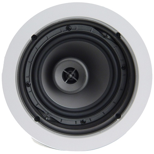 2-way white Reference Series in-ceiling speaker