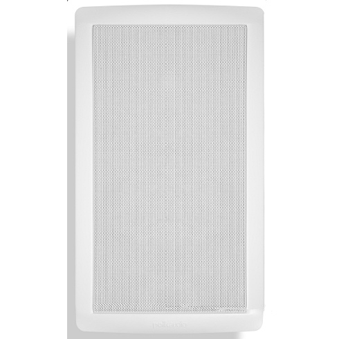 2-way single white in-wall speaker