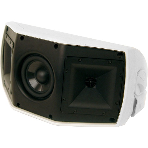 2-way white Reference Series outdoor speaker