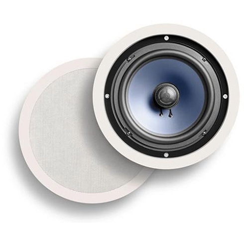 2-way white RCi Series round in-wall/ceiling loudspeaker pair