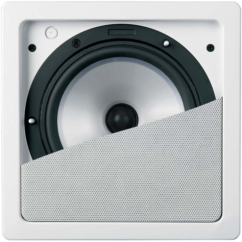 2-Way Ci Series Flush Mount Square Loudspeaker