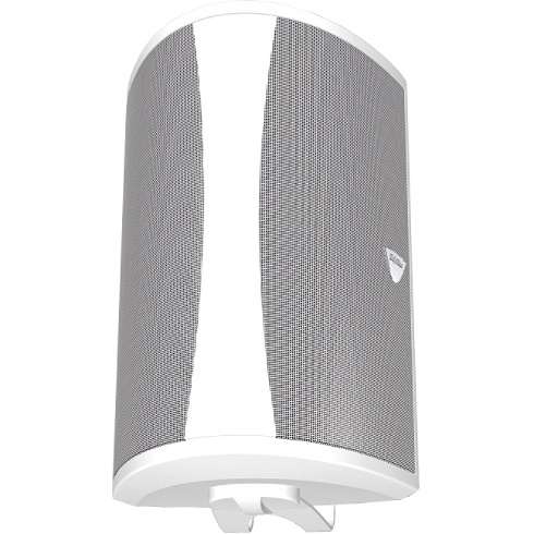 2-way white single all-weather speaker