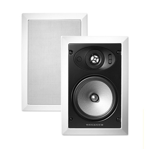 2-Way Symphony Series In-Wall Loudspeaker Pair