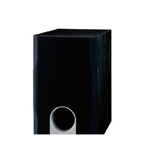 10 black 230W powered subwoofer